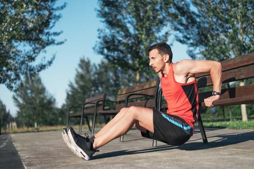 L'entraînement au poids de corps