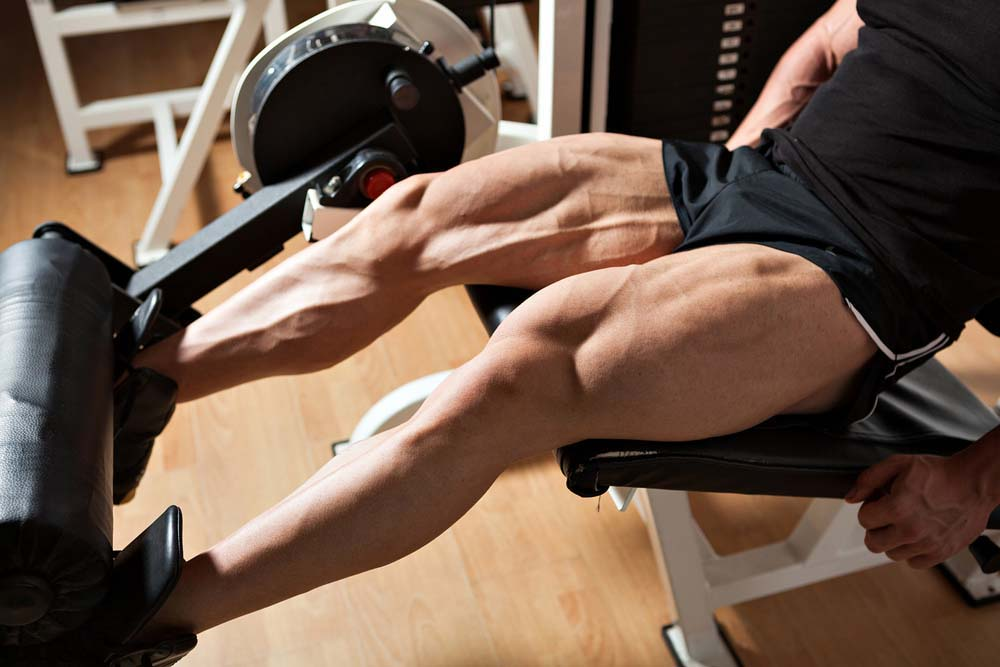 Leg extension pour les quadriceps