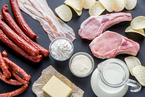 Les graisses saturées et la santé