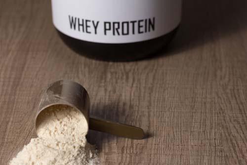 Les protéines dans un gainer