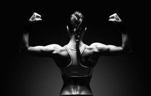 Les muscles chez les femmes