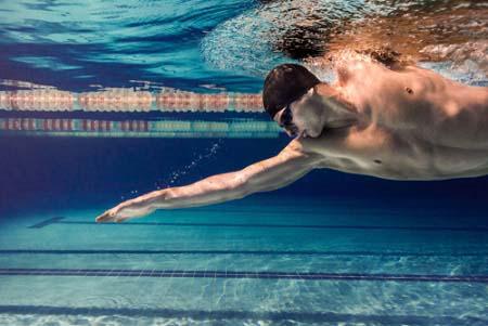 La natation pour la perte de poids