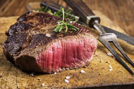 Vous pouvez manger de la viande rouge