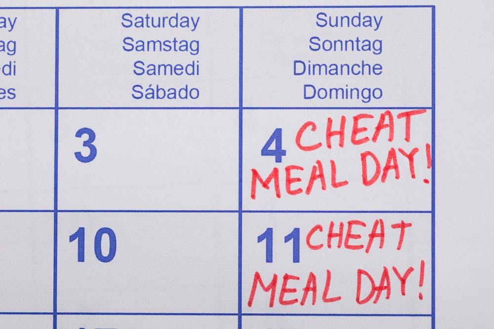 Le cheat meal pour rester motivé
