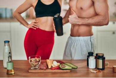 La nutrition pour le home training