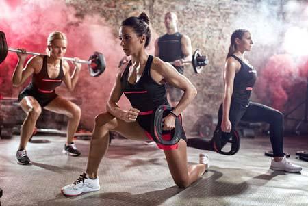 Cours collectifs et perte de poids