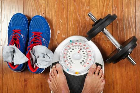 Régime sportif et perte de poids