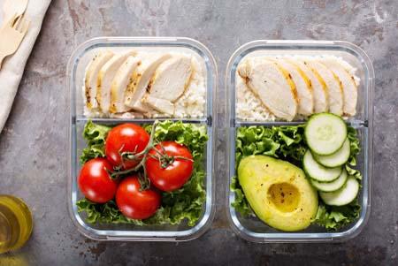 En vacances préparez vos repas à l'avance