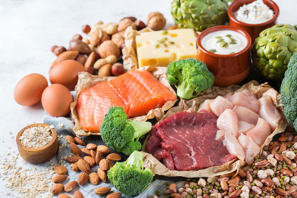 Protéines et graisses pour la construction musculaire