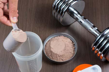 Les protéines en poudre et le volume musculaire