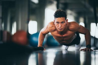 Push Up CrossFit