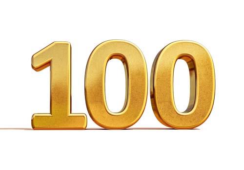 Les séries de 100 répétitions