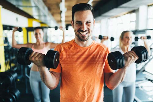 La musculation nous rend heureux