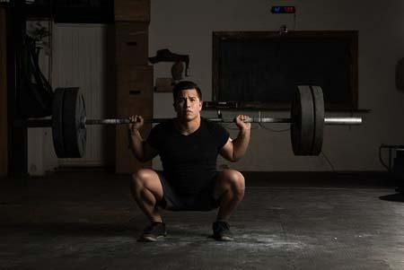 Le squat complet