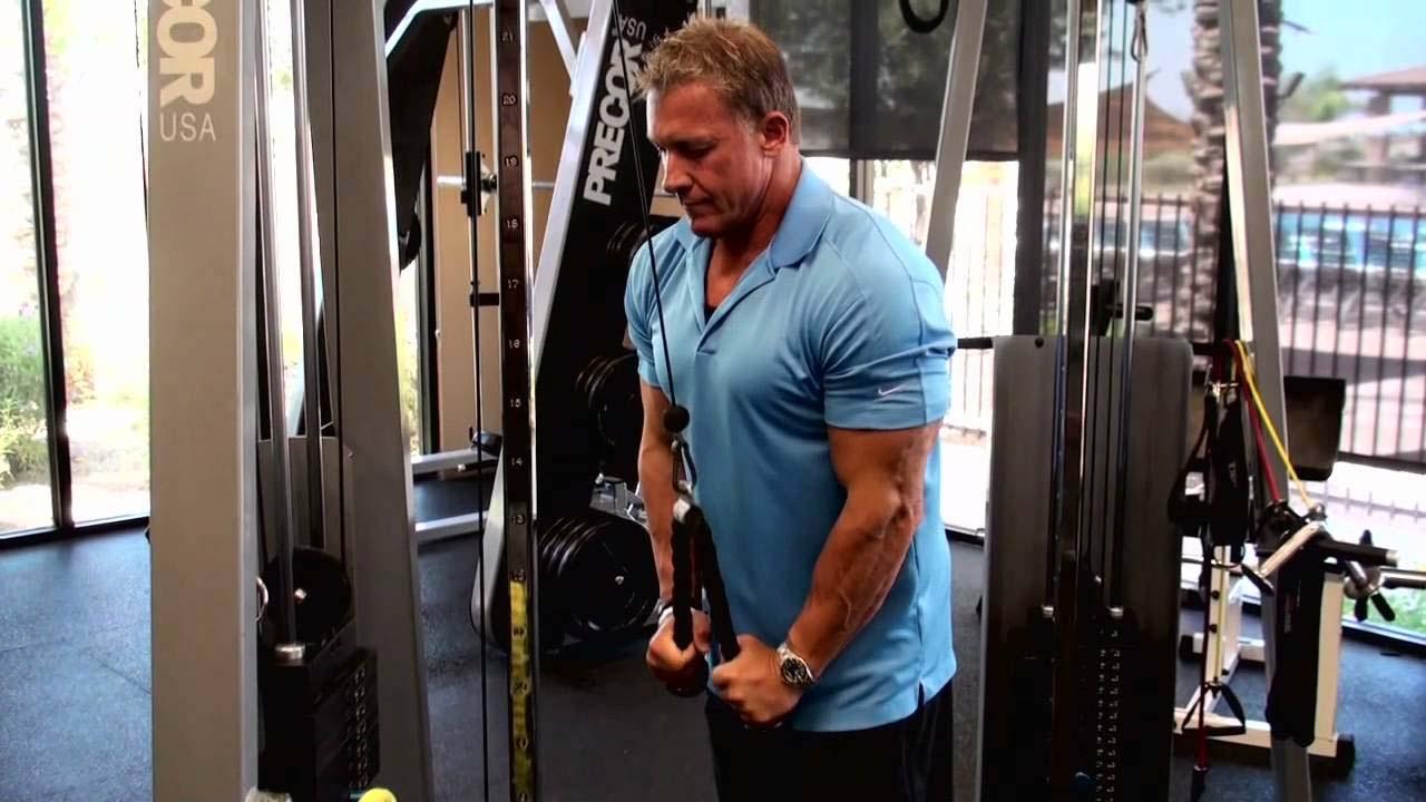 Triceps à la corde