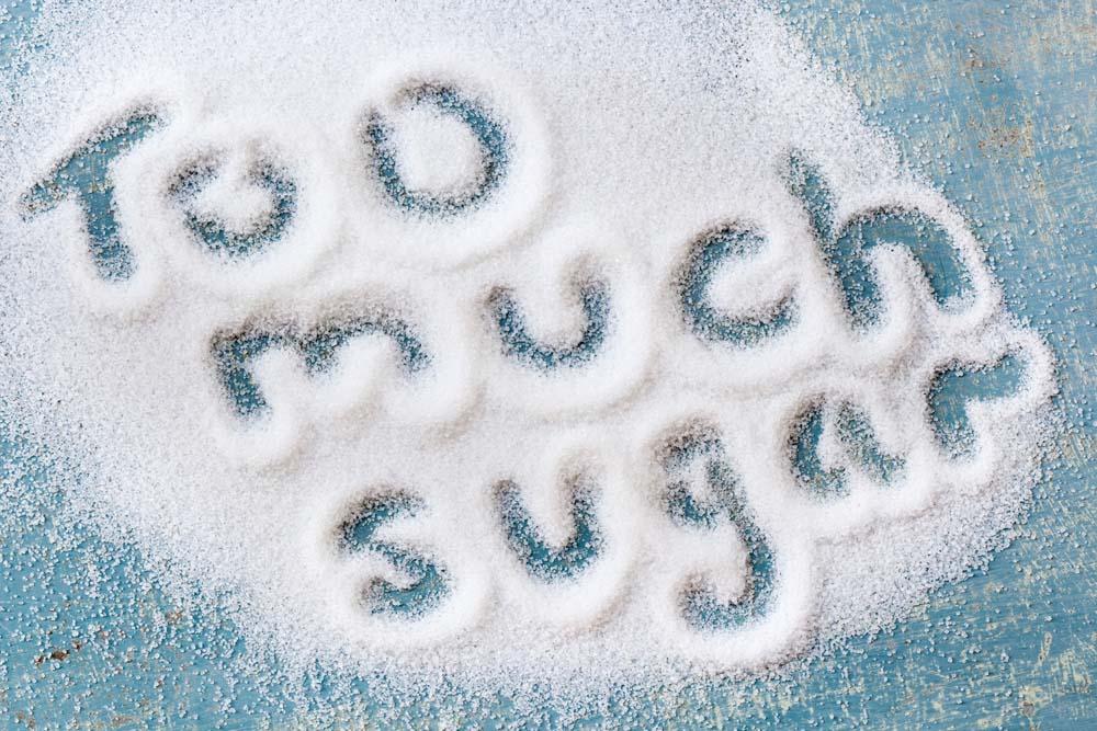 trop de sucre nuit à la santé