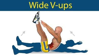 V-Up pour les abdos
