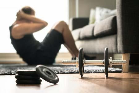 Le volume d'entraînement à la maison