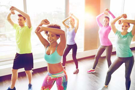 La zumba cours collectifs