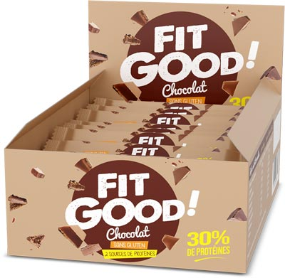 Fit Good barre protéinée pack de 12