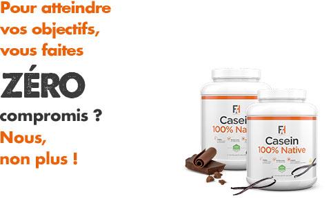 Casein 100% Native - Fit & Healthy | Toutelanutrition
