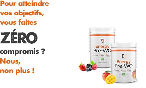 Energy Pre-Wo Fit & Healthy - Booster d'entrainement