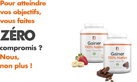 Gainer 100% native Fit & Healthy