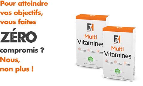 Multi Vitamines - Fit & Healthy - Vitamines et Minéraux | Toutelanutrition
