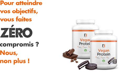 Protéine végétale : Vegan Protein de Fit & Healthy  | Toutelanutrition