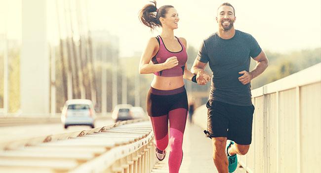 Couple de joggers