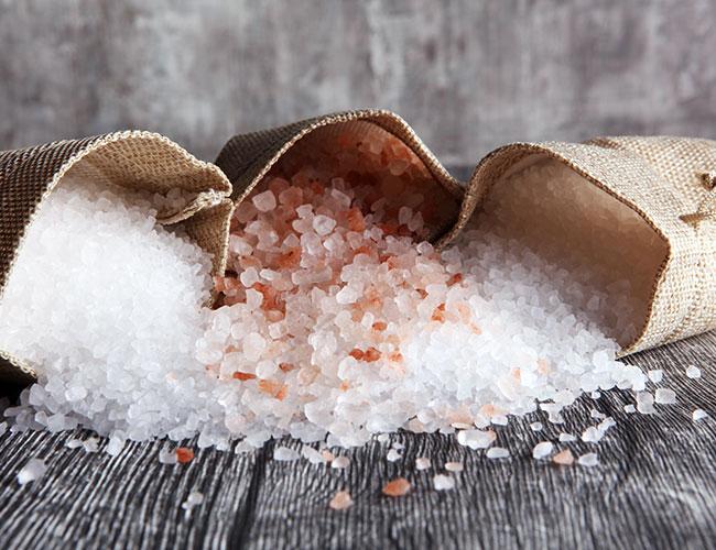 Minéraux de sel & magnésium