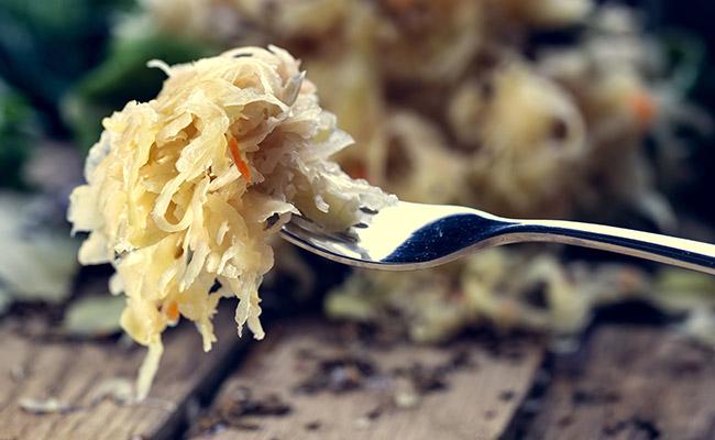 La choucroute, source de probiotiques