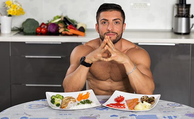 Plats protéinés aux apports caloriques réduits