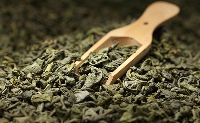 Thé vert séché
