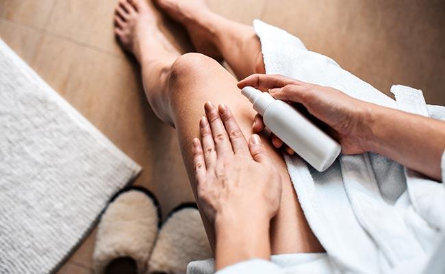 Traitement contre la cellulite : la crème cosmétique