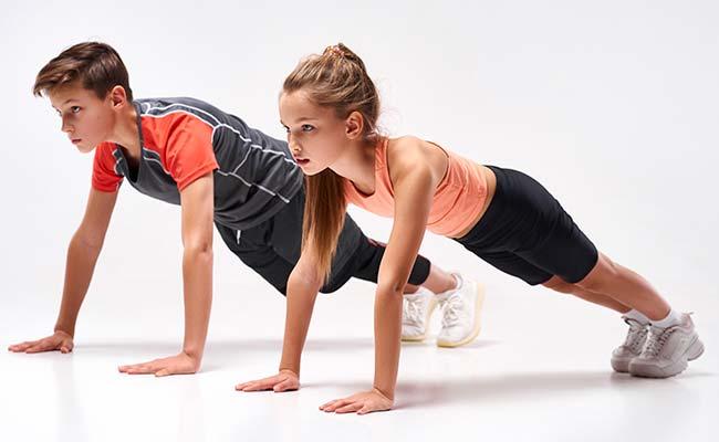 Les adolescents et la musculation