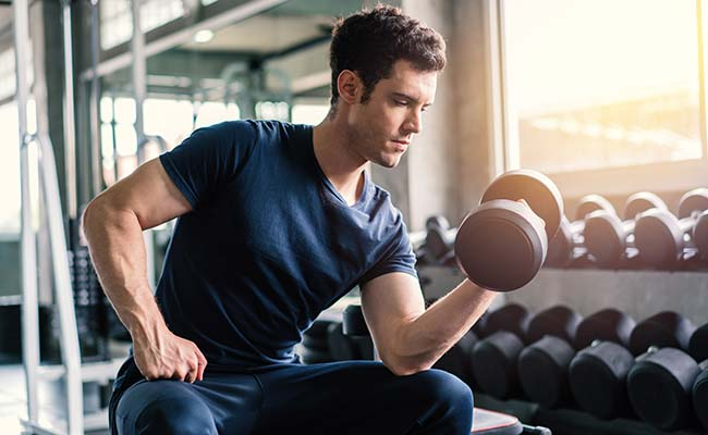 Exercice pour cibler l'ensemble du biceps