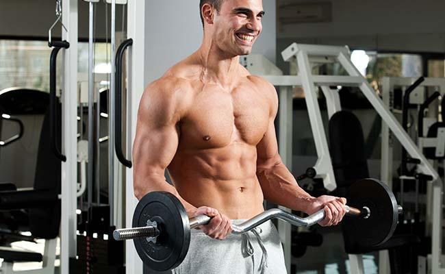 Biceps curl aux haltères