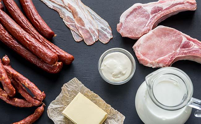 Sources de graisses saturées