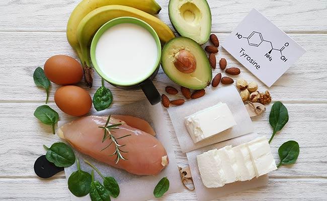 Aliments sources de tyrosine