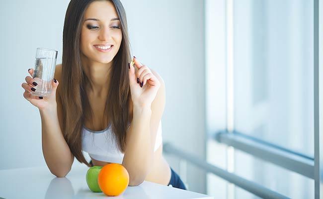 Cure quotidienne de vitamines