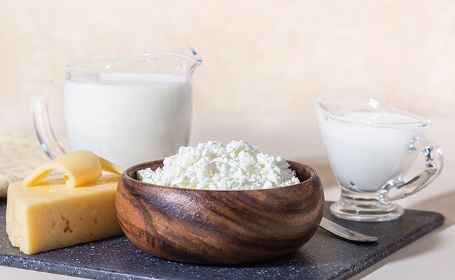 Différentes sources de protéines de lait
