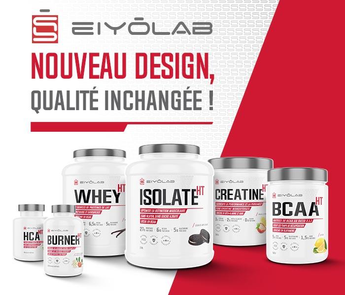 Nouveau design Eiyolab, Qualité inchangée !