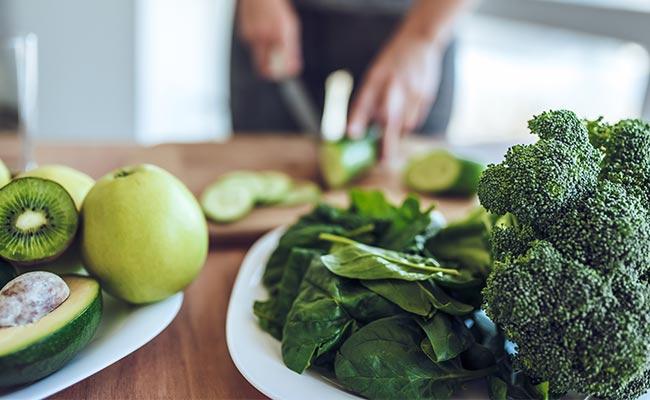 Healthy lifestyle avec alimentation riche en antioxydants