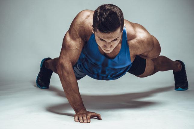 L'entraînement des bras sans matériel