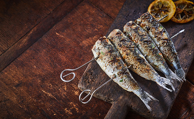 La sardine, aliment riche en calcium