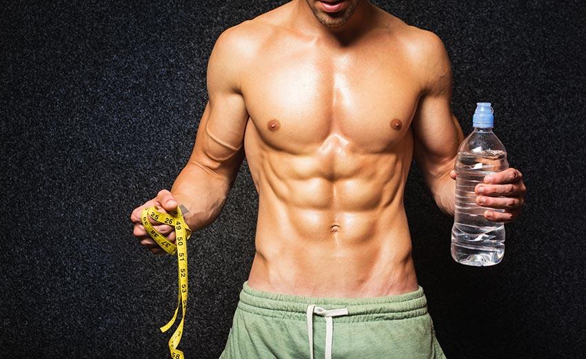 Les hommes et la perte de poids