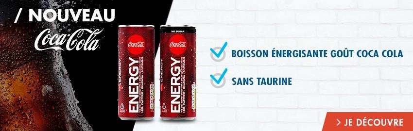 Nouveauté Coca Cola : Coca Cola Energy Drink