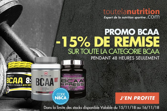 Offre BCAA